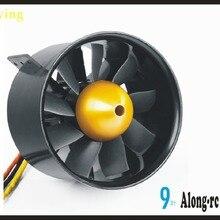 Freewing E7228 90 мм 9 лопастей 3748-1750kV металлический канальный вентилятор outrunner двигатель 6S EDF использование для F-4C F16 90 T45 90 F15