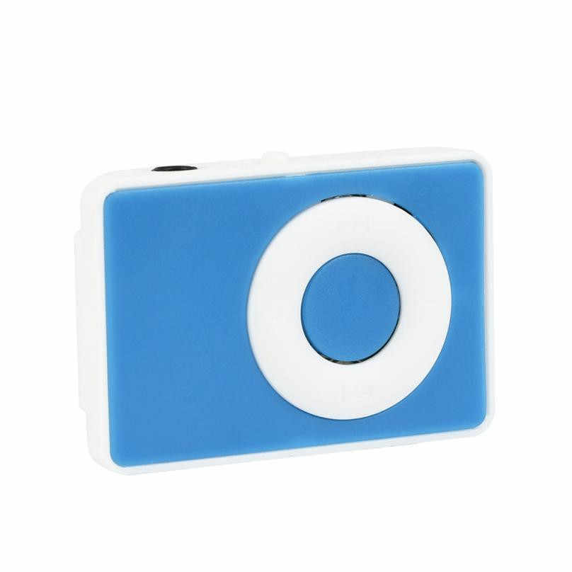 2018 スリックスタイリッシュなデザインクリップ USB デジタルミニギガバイト 32 Mp3 音楽メディアプレーヤーのサポートマイクロ TF カードヘッドセット # Y