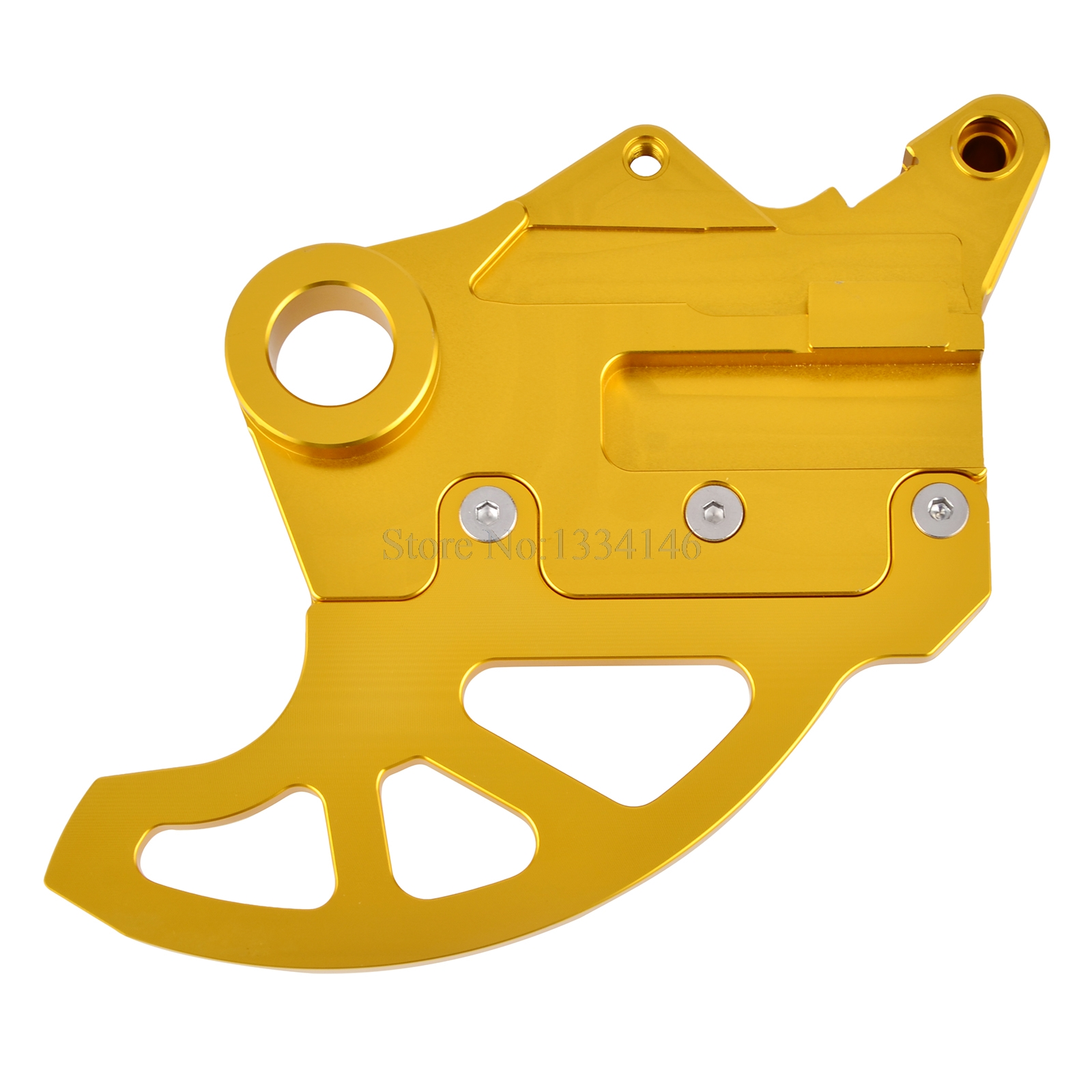 NICECNC For Suzuki RMX450Z RMZ250 RMZ450 Rear Brake Disc Guard Protector Cover CNC Brake Disc Guard For RMZ 250 450 2015 2016 цена