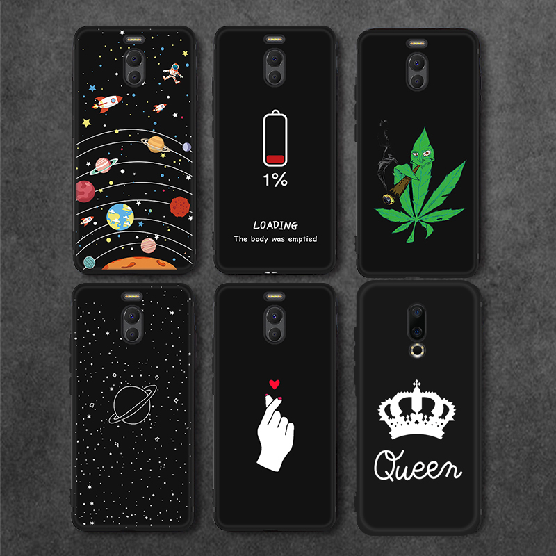 Cellphones & Telecommunications Fitted Cases For Meizu M6 M5 Note 8x Moon Star Phone Case For Meizu 16th 16 Plus 16x M6 M5s M5c Note 8 Black Matte Back Cover Soft Tpu Capa Sale Price