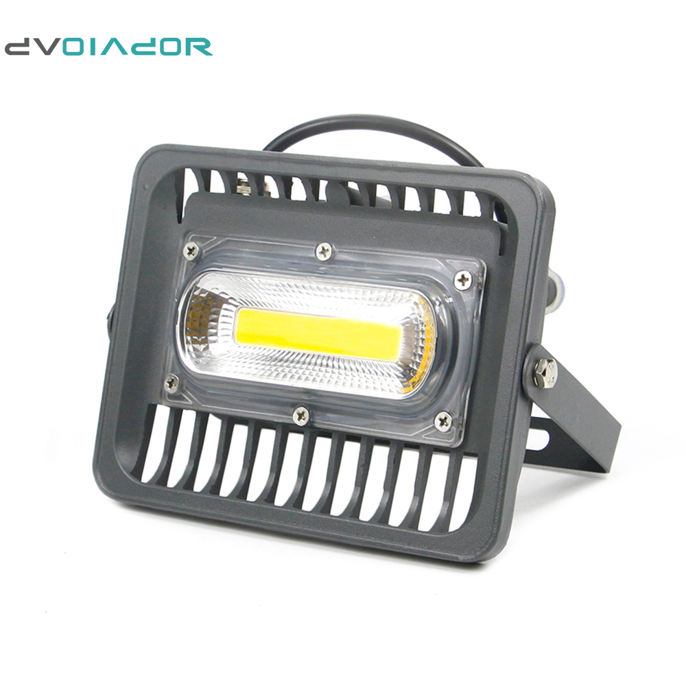 DVOLADOR High Quality LED Floodlight 70W IP66 Waterproof AC 220V LED Reflector lamp LED Outdoor Lighting Garden floodlight