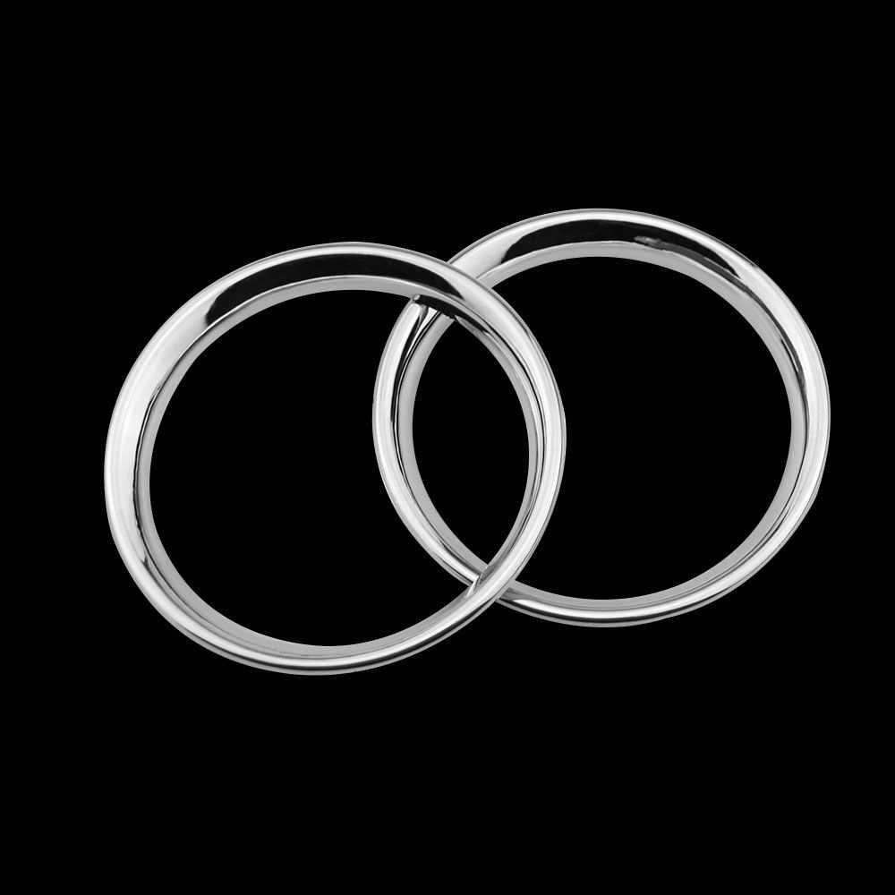 車のスタイリング ABS クロームエアベント装飾丸車カバー空気出口スパンコールステッカー日産新サニー 2012 から 2015 修理