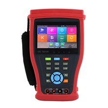 "4.3"" IPS touch screen CCTV Tester Monitor Analog IP Camera Tester Support H.265/H.264 4K Security Camera Test SDI/ TVI / CVI/AHD(China)"