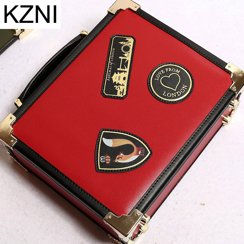 KZNI Genuine Leather Purse Crossbody Shoulder Women Bag Clutch Female Handbags Sac a Main Femme De Marque L110604 kzni genuine leather bag female women messenger bags women handbags tassel crossbody day clutches bolsa feminina sac femme 1416