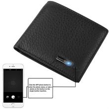 Bluetooth GPS Tracking Anti-Thief Smart Wallet