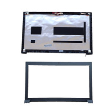 BillionCharmn جديد الأصلي محمول أعلى LCD الخلفي غطاء لجهاز lenovo B570 B570E B575 B575E الخلفية غطاء الإطار الأمامي