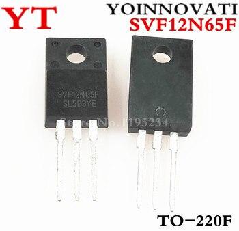 Darmowa wysyłka 10 sztuk/partii SVF12N65F SVF12N65 12N65 TO-220F IC najwyższej jakości.