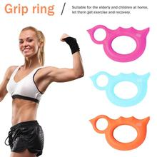 New Silicone Hand Grip Ring Strengthener Finger Forearm Exercise Stretcher Bird Shape For Men And Women portable