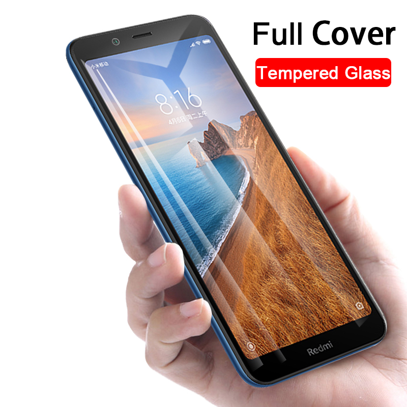 Full protective glass redmi 7a tempered glass for Xiaomi Redmi 7A Note 7 Pro Redmi7 A Redmi7a note7 note7pro 7pro screen protect(China)