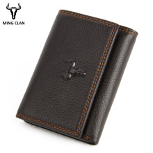 RFID Wallet Antitheft Scanning Leather Wallet