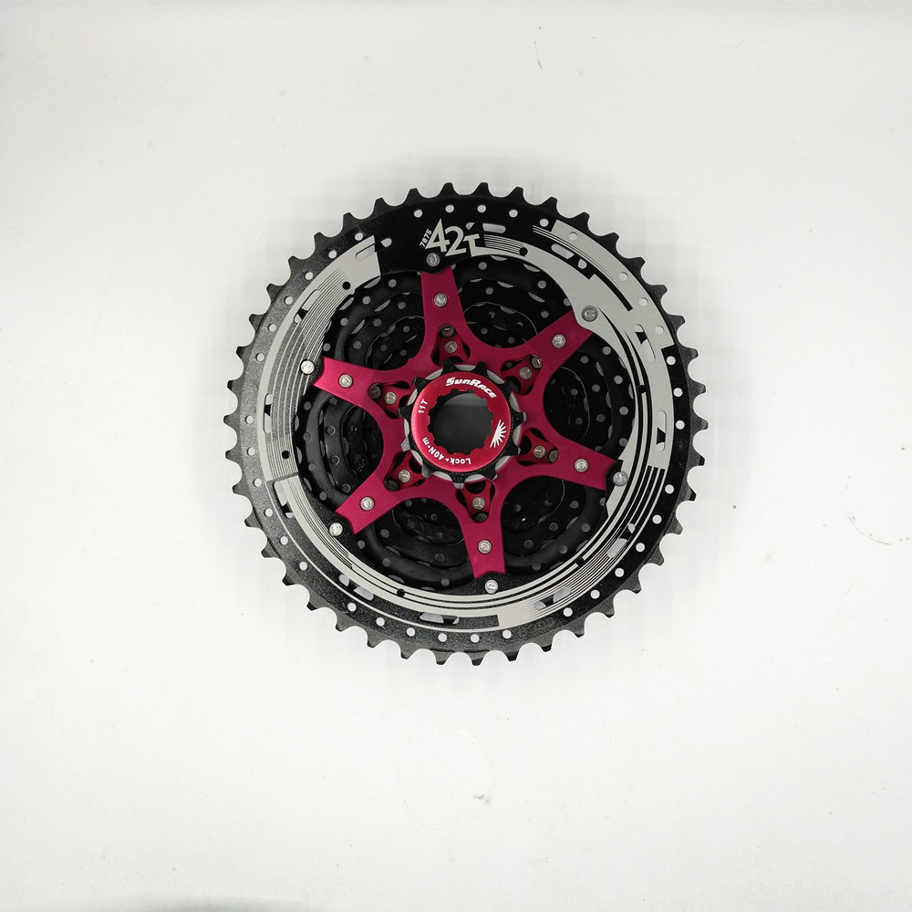 Sunrace 11Speed Road Bike Cassette Bicycle Freewheel Cycling Freewheel 11-42T