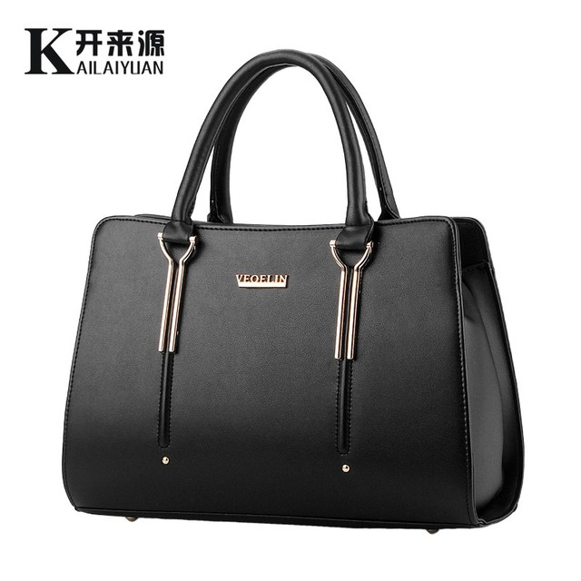 100% Genuine leather Women handbag 2016 New Sweet lady styling fashion handbag Crossbody Shoulder messenger Handbag