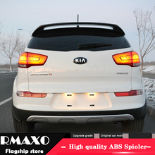 Для KIA Sportage спойлер 2013- KIA Sportage R спойлер высокое качество абс материал заднее крыло праймер цвет задний спойлер