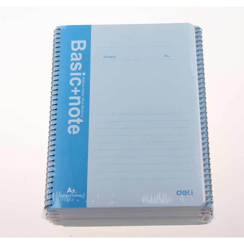 Канцелярские товары 7682 A5 50 спиральная переплетная катушка для ноутбука 50 страниц книга для совещаний kawaii листы для заметок планировщик наклейки