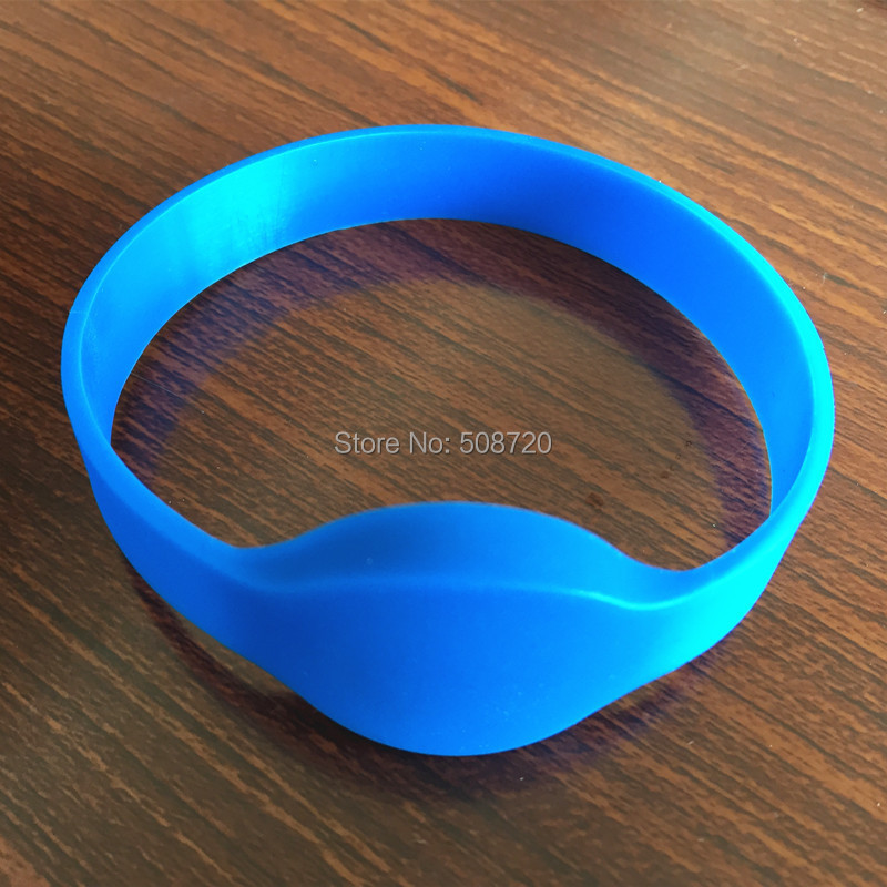 10 PCS 125KHZ EM4100 ISO Compatible ID Wristband Silicone Rfid Bracelet For Access Control