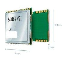 10 pces sl869 v2 mt3333 chipset, o módulo gnss para o sincronismo não automático e nenhum reckoning inoperante (navegação de área cega)