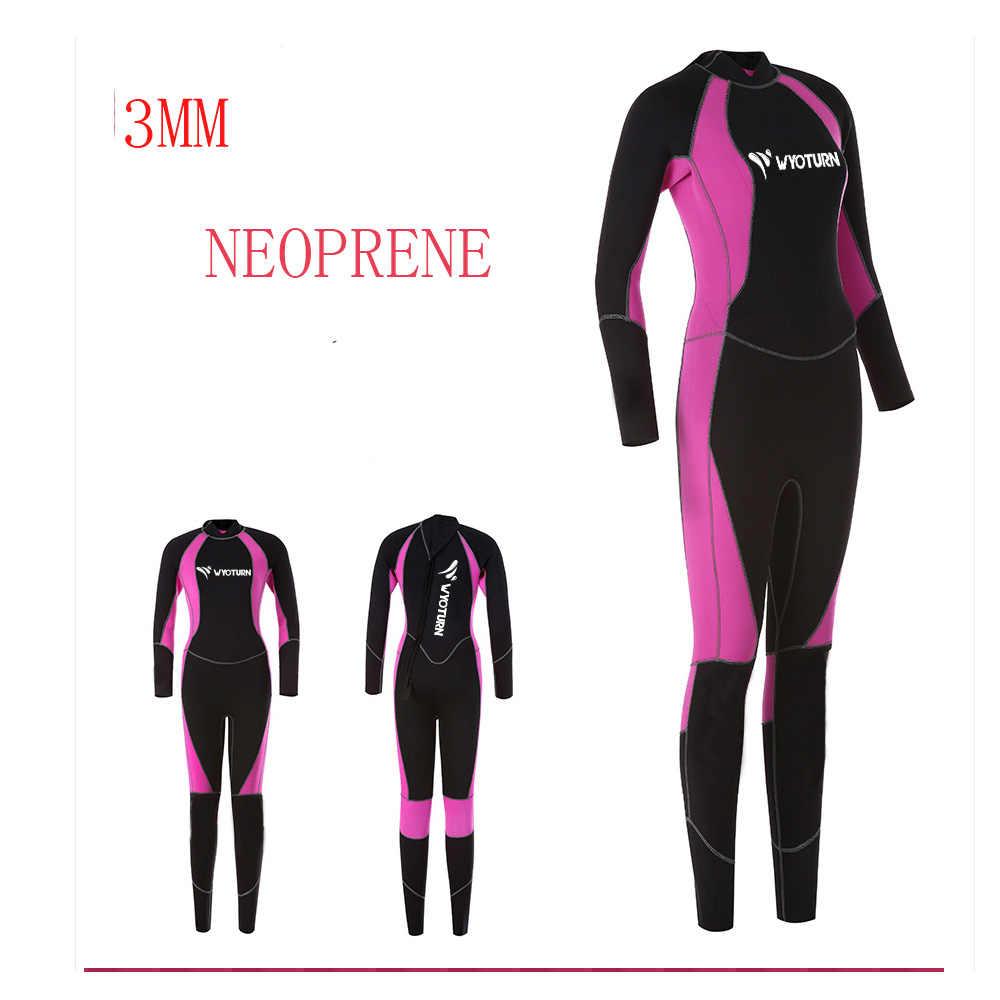 Неопреновый гидрокостюм для ныряния с аквалангом, для мужчин и женщин, высокое качество, 3 мм, 2020