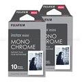 2016 nuevo 20 unids fujifilm instax mini film monocromo para mini 8 7 s 7 50 s 50i 90 25 dw Compartir SP-1 Instantánea Polaroid Cámara de Fotos