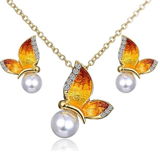 Women's Butterfly Design Jewelry Set Hot Promotions Jewelry Jewelry Sets Women Jewelry