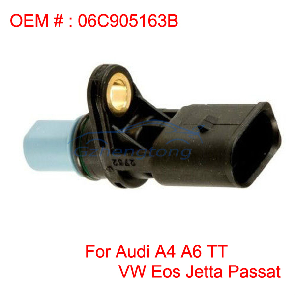 Camshaft Position Sensor for Audi A4 A6 TT VW Eos Jetta Passat OEM 06C905163B