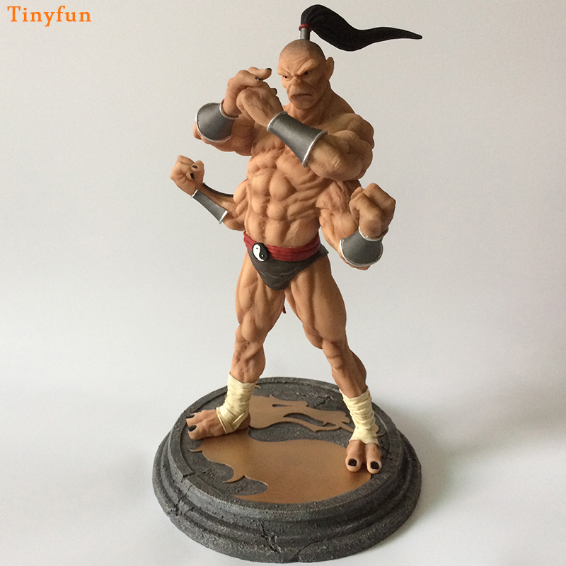 US $107 99 10% OFF|Mortal Kombat Goro Resin Action Figure 1/4 scale painted  figure Shoka Goro Resin figure Garage Kit Toy Brinquedos Anime-in Action &