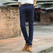 Новая мода повседневная карандаш брюки лето тонкий эластичный 3 цвета джинсы для мужчин в качестве подарка для мужчин Бесплатная Доставка MF769523