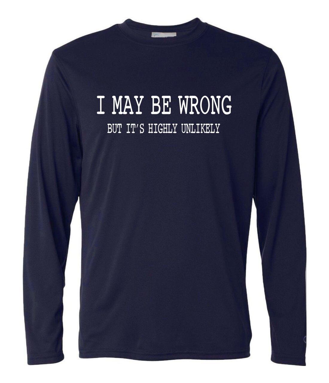 Männer Frühling Herbst Lustige Sprüche Slogans Camisetas Ich