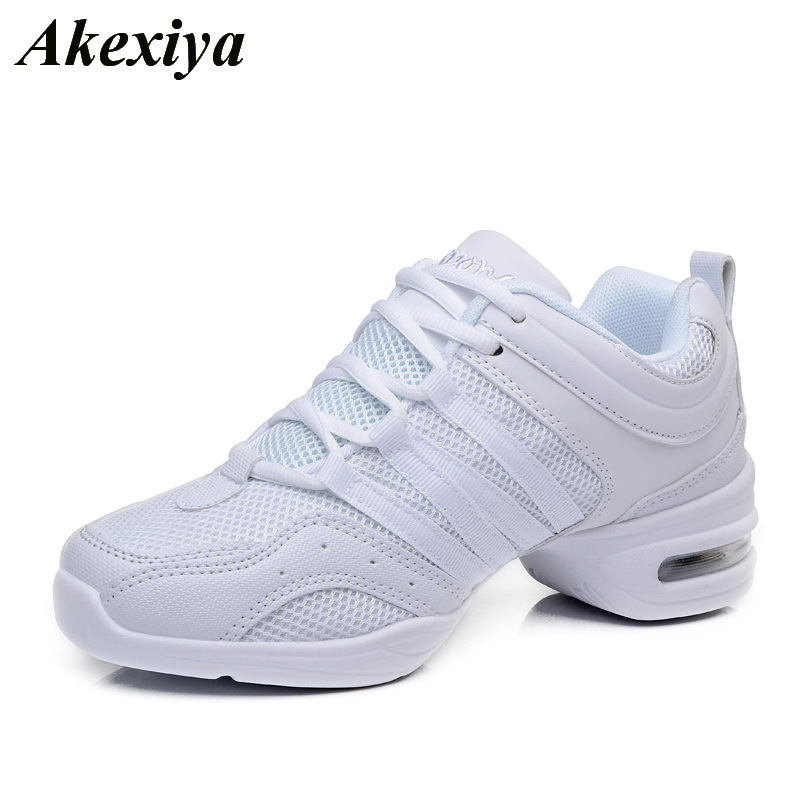 Women Dance Sneakers Shoes Soft Outsole Breath Dancing Shoes For Woman High Quality Modern Jazz Dance Shoes Ladies Sports Shoes