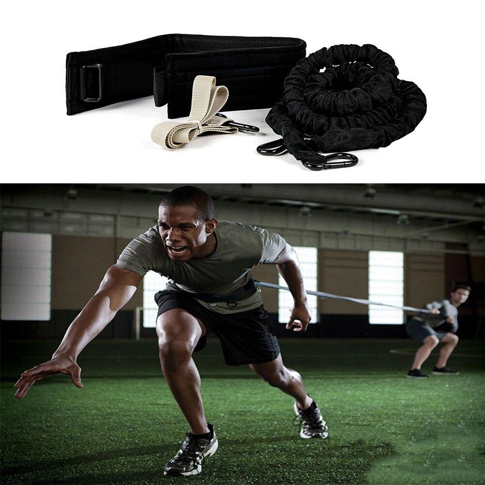 Élastique 360 résistance bande élastique course à pied entraînement Cross athlètes Fit tirer corde entraînement costume résistance Traniner bandes