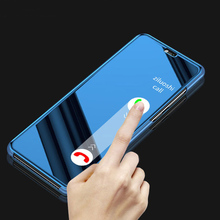Smart Mirror Flip Phone Case For Samsung Galaxy S9 S8 S7 S6 Edge Plus Clear View