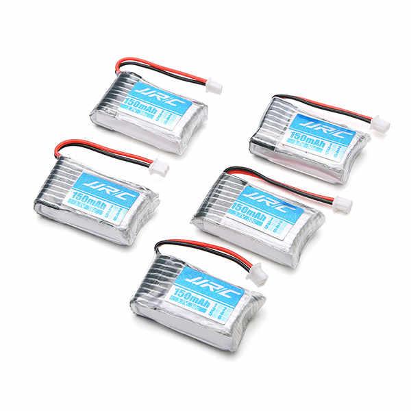 Meilleure offre 5X3.7 V 150 mAh 20C Lipo batterie et câble USB ensemble pour JJRC H20 H20H RC Drones quadrirotor pièces de rechange