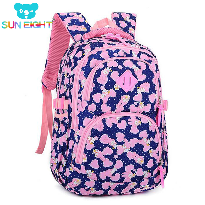 New Arrival Waterproof Girl Backpacks School Bag Shoulder Bags Printing Backpack Child