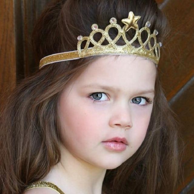 Little Girls Princess Headbands Cute Hairband Kids Crown