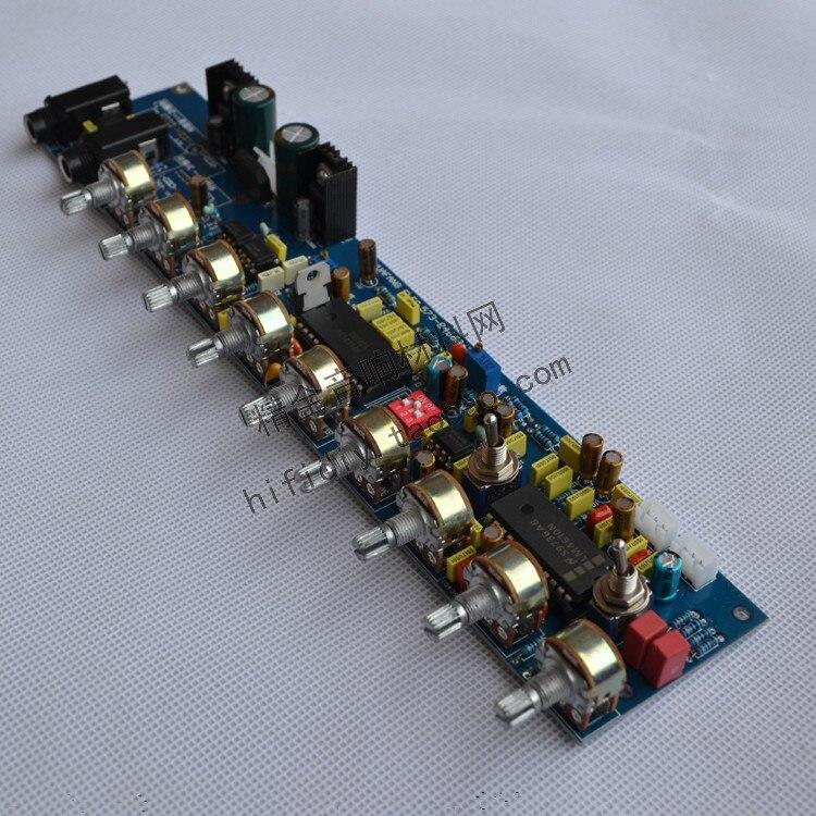 Amplificateur de fièvre bricolage Kara OK tonalité carte NE5532 + M65831 + LM4610 carte intégrée