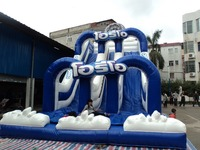 NEW Giant Slides Inflatable slides, bouncy castles, inflatable children's toys,customized