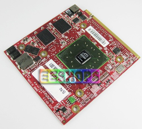 Brand New for Acer TravelMate 5730 6593 7530 7730 Laptop AMD HD 3450 3470 DDR2 256MB MXM II VGA Graphic Video Card Optical Cases