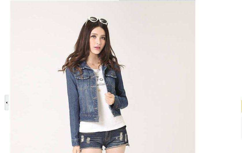 Женская Весенняя джинсовая куртка синие короткие джинсовые куртки винтажный обрезанный кардиган пальто Летние Стильные куртки mujer jaqueta джинсы - Цвет: 2