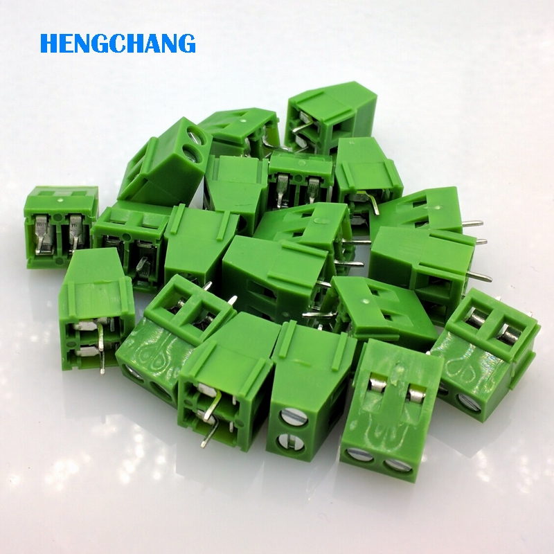 Free shipping Green KF128-2P 2-Pin Plug-in Terminal Block Connector 5.0mm 300V/10A Pitch PCB Mount 20pcs/lot 10 sets 5 08 2pin terminal plug type 300v 10a 5 08mm pitch connector pcb screw terminal block free shipping