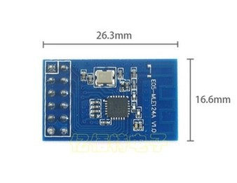 5pcs lot nRF24LE1 RFID module with microcontroller 51