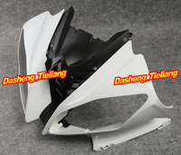 GZYF Injection Mold ABS Upper Front Fairing Cowl Nose for Yamaha 2008 2009 2010 YZF R6