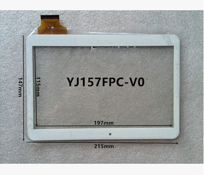New original tablet capacitive touch screen YJ157FPC-V0 free shipping