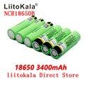 2019 LiitoKala nuevo original NCR18650B 34B 3,7 V 18650 3400mAh batería recargable de litio batería de la linterna