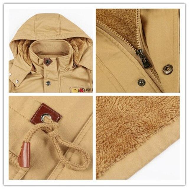 Men's Winter Thermal Fleece Jacket 1