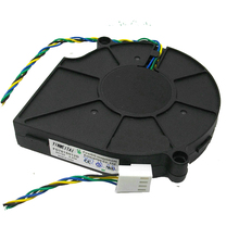 Black Brushless DC Cooling Blower Fan 12V 4Pin PWM 75x77x15mm For PC Case System FD7015H12D B127515BU