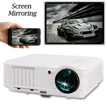 CAIWEI Screen Mirroring Projector 1080P LED Home Theatre Smartphone Dightal TV Movie Projection Full HD WIFI Beamer HDMI USB AV