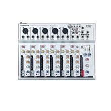 Flanger F7-USB 7 Channels Effects Mic Line Audio Mixer Mixing Console for Karaoke KTV Match Party leory professional 4 channels dj mixer sound mixing console with usb mp3 jack live audio mixer for karaoke ktv meeting speech page 7