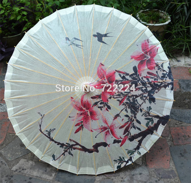 Free shipping Dia 50cm chinese craft antique handmade umbrella two swallows return picture dance oiled paper umbrella for child dia 84cm chinese handmade red plum blossom oil paper umbrella ancient waterproof sunshade parasol decoration gift dance umbrella