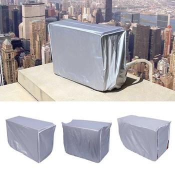 94*40*73CM powietrze na zewnątrz klimatyzator wodoodporna pokrywa przeciw kurzowi do mycia narzędzia do czyszczenia do domu wodoodporny materiał poliestrowy tanie i dobre opinie TOPINCN SILK Duszpasterska
