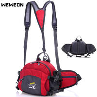 Running Waist Bag Outdoor Sport Waist Pack Portable Running Backpack Multifunctional Cycling with Bottle Holders