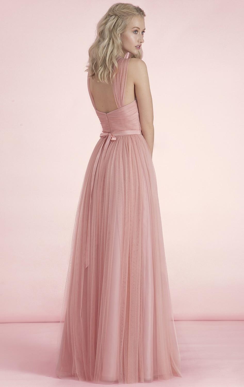 Lujoso Vestidos De Dama De Blush Imágenes - Ideas de Vestido para La ...